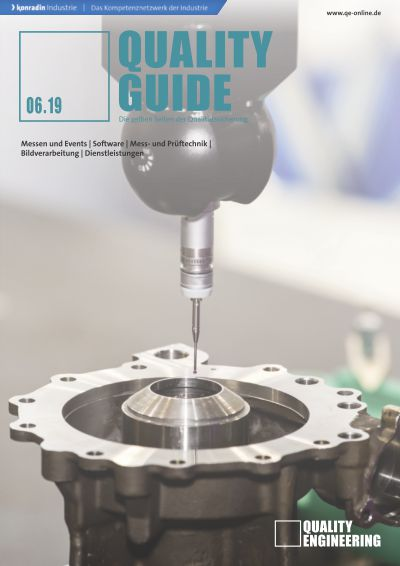 Titelbild QUALITY ENGINEERING Quality Guide 6