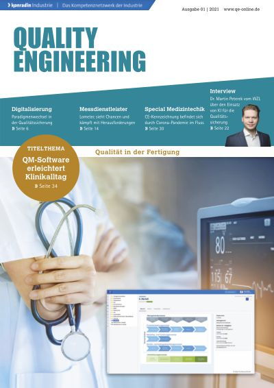 Titelbild QUALITY ENGINEERING 1