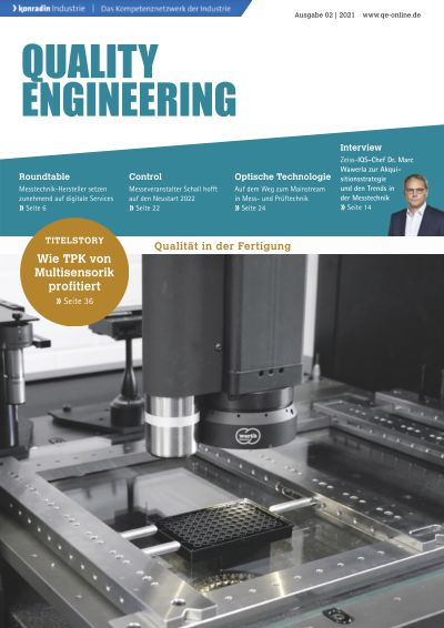 Titelbild QUALITY ENGINEERING 2