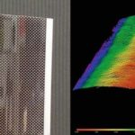 Optisch_unkooperatives_Bauteil:_RGB-Farbfoto_(links)_und_3D-Messergebnis_im_SWIR_Spektralbereich_(rechts).